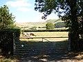 Farm Gate beside the A493 - geograph.org.uk - 214676.jpg