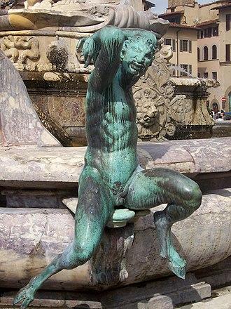 Faunus - Faunus as depicted by the sculptor Bartolomeo Ammanati.