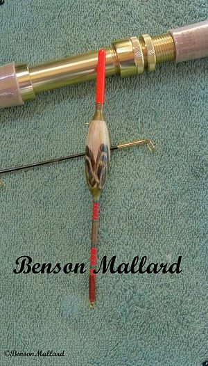 Shortfloating - Image: Feather Inlaid River Stick