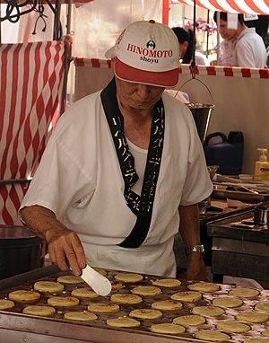 Liberdade street market - Image: Feira da liberdade são paulo doce japonês