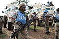 Female combat troops of South African Contingent in MONUSCO on robust foot and moblile patrols 06.jpg
