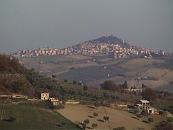 Panorama of Fermo.