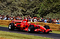 Ferrari F2007 Kimi Räikkönen at Goodwood 2014 001.jpg