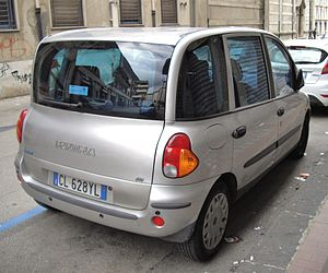 Fiat Multipla - First series Multipla (rear)