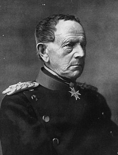 Helmuth von Moltke the Elder 19th century German Field Marshal