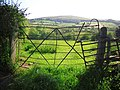 Field with a quirky gate - geograph.org.uk - 1357095.jpg
