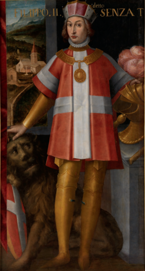 Philip II, Duke of Savoy