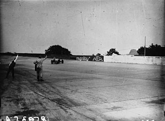 1931 French Grand Prix - Finish of the race