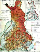 Карта великого княжества Финляндского