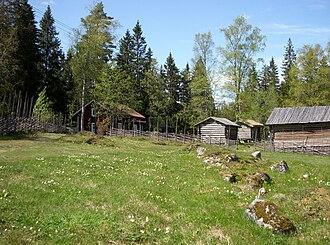 Ecomuseum Bergslagen - Image: Finngammelgården 2009
