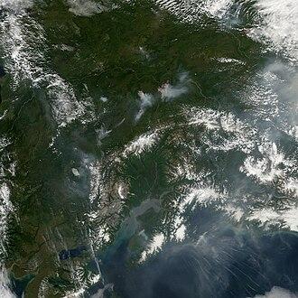 Interior Alaska - Image: Fires in Interior Alaska