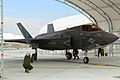 First F-35B Lightning II arrives at MCAS Beaufort 140717-M-UU619-739.jpg