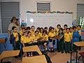 First graders of the Interamerican University Elementary School in San German (6505348393).jpg