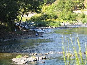 Fishing in the Umpqua River