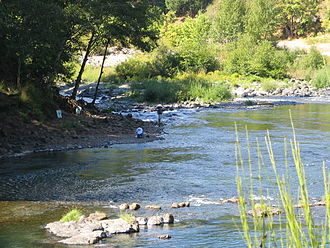 Umpqua River - Fishing in the Umpqua River