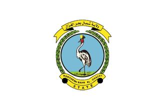 States of South Sudan - Image: Flag of Northern Bahr el Ghazal