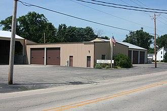 Flagg Township, Ogle County, Illinois - Flagg Township building.