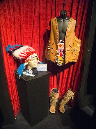 Chief Jay Strongbow - Strongbow's wrestling attire