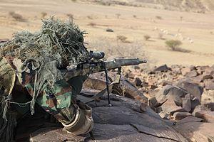FR F2 sniper rifle - Image: Flintlock 2013 sniper