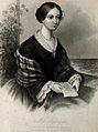 Florence Nightingale. Stipple engraving by J. Moore, 1860. Wellcome V0004317.jpg