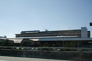 Geneva Airport - The main terminal building