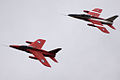 Folland Gnat Pair - Duxford May 2009 (3542755493).jpg