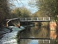 Footbridge over the Trent and Mersey Canal - geograph.org.uk - 375391.jpg