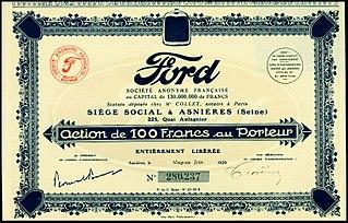 automobile manufacturer