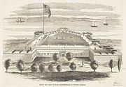 Fort Independence 1852