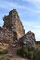 Fort de Bèrnia, restes de mur.JPG
