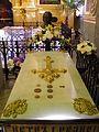 Forteresse Pierre-et-Paul - cathédrale Saints-Pierre-et-Paul - intérieur - tombe de Pierre Ier.jpg