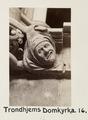 Fotografi av Trondheims domkyrka, Norge - Hallwylska museet - 105804.tif
