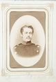 Fotografiporträtt på Minister Albert von Voigts-Rhetz, 1860-tal - Hallwylska museet - 107819.tif