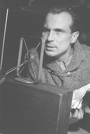 Wilhelm Borchert - Wilhelm Borchert in 1946