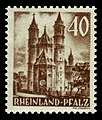 Fr. Zone Rheinland-Pfalz 1948 39 Dom in Worms.jpg