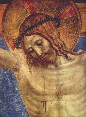 Fra Angelico - The Crucified Christ (detail)