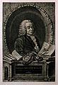 François Quesnay. Reproduction of engraving by J. C. Françoi Wellcome V0004847.jpg