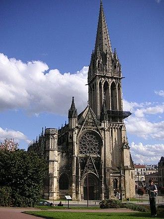 Church of Saint-Pierre, Caen - Façade.