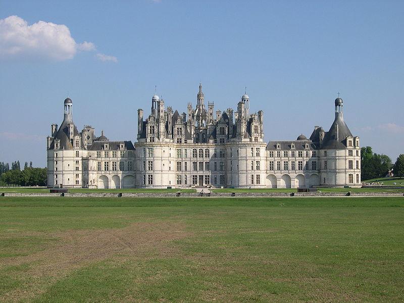 Castillo de Chambord (año 1519)