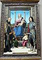 Francesco marmitta, madonna col bambino, angeli e santi, 1500-1505 ca., da chiesa di s. quintino a parma 01.JPG