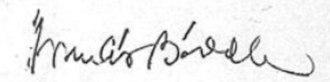 Francis Biddle - Image: Francis Biddle signature