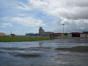 Achada Grande Tras - Francisco Mendes International Airport served the island until 2004.