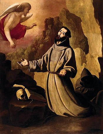 Francisco de Zurbarán - St Francis of Assisi R...