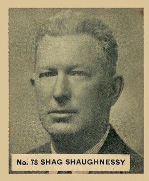 Frank Shaughnessy - Image: Frank Shaughnessy 1936Goudeycard