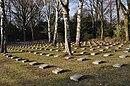 Frankfurt, Friedhof Westhausen, italienischer Soldatenfriedhof, Teilausschnitt.JPG