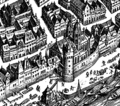Frankfurt Altstadt-Position-Leonhardskirche-Merian1628.png