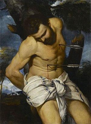 Frans Badens - Saint Sebastian
