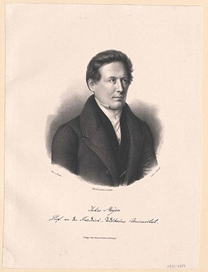 Franz Meyen - Meyen in 1840