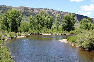 Fraser River (Colorado) tributary of the Colorado River in Colorado, United States of America