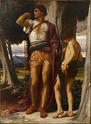 Frederic Leighton, 1st Baron Leighton of Stretton - Jonathan's Token to David - Google Art Project